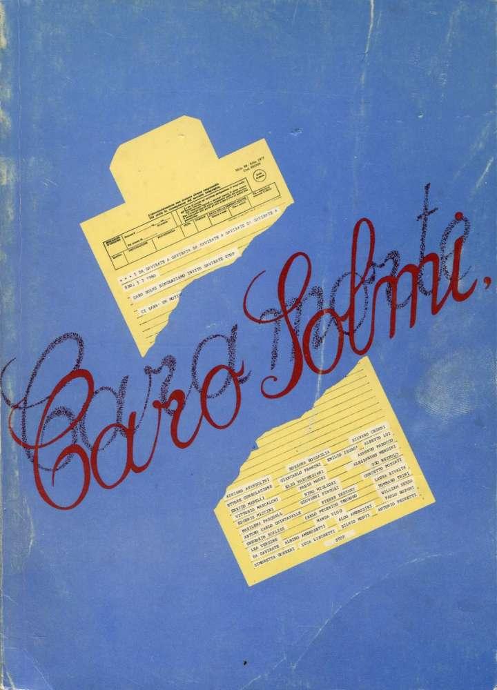 Caro Solmi - Rassegna d'arte e di lettere - Gavirate Chiostro di Voltorre (1980)