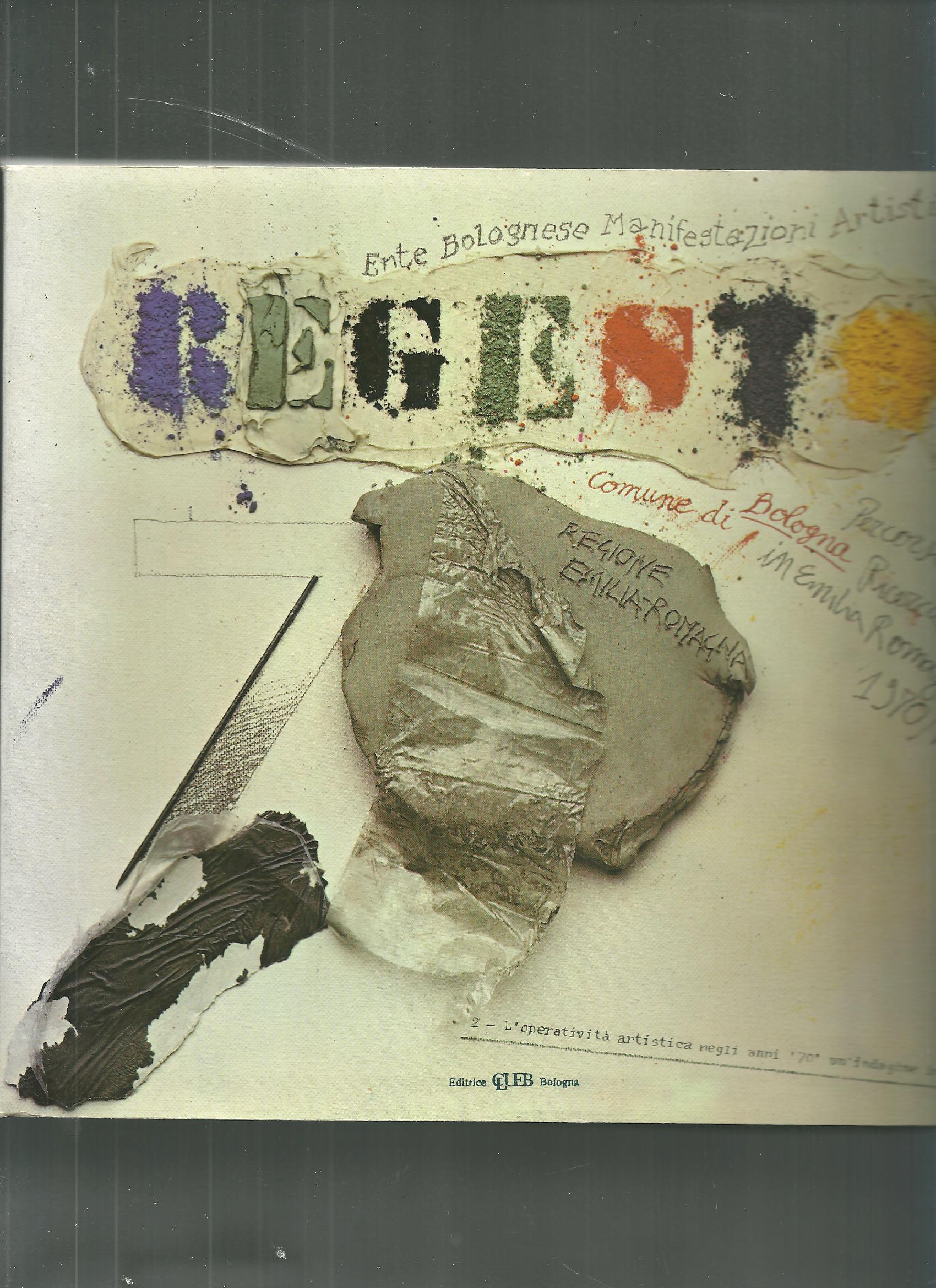 Regesto, Ente manifestazioni artistiche di Bologna (1981