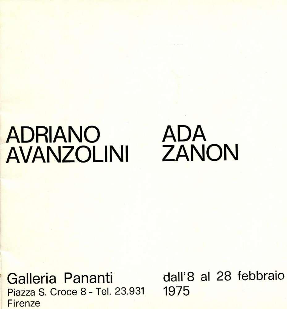 Galleria d'arte Pananti - Firenze (1975)