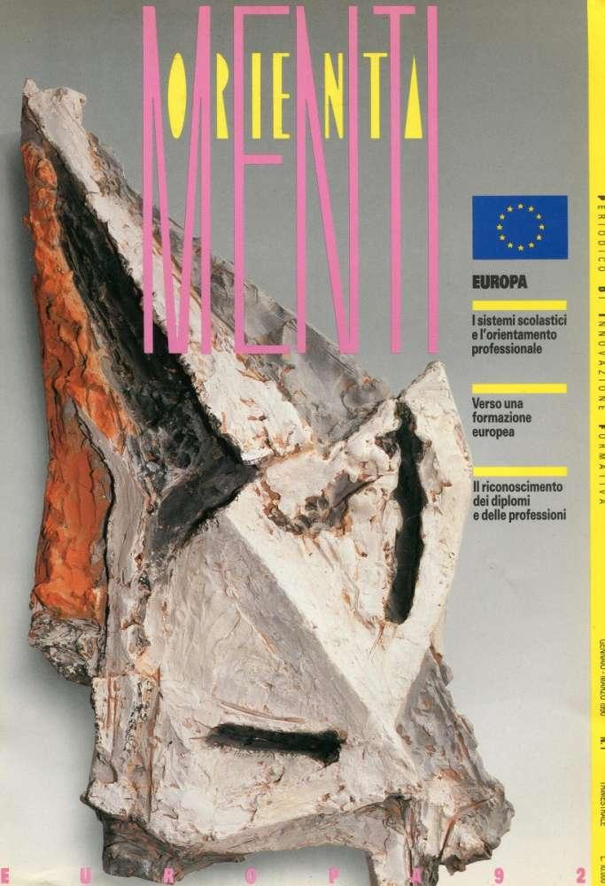 OrientaMenti - pubblicazione periodica Provincia di Bologna (1990)
