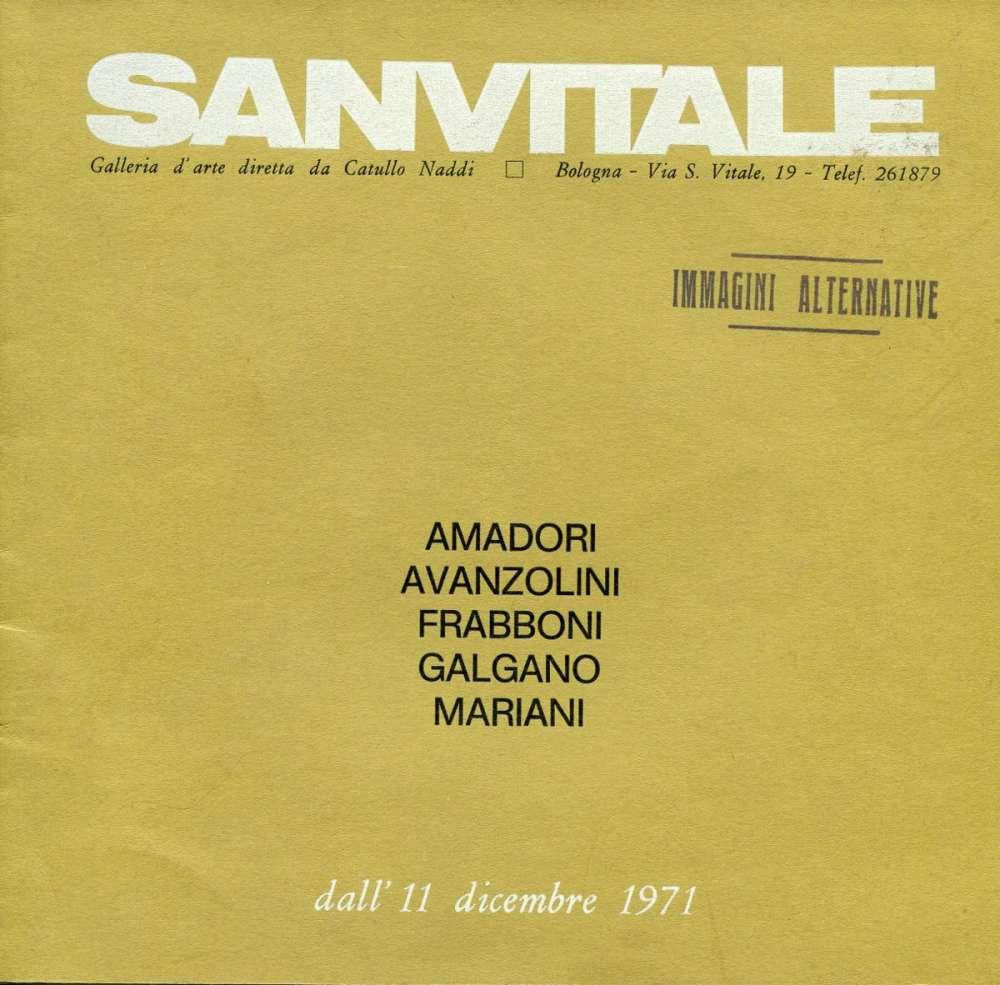 Sanvitale - Galleria d'arte  - Bologna (1971)