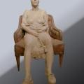 Particolare da Il Teatro del Quotidiano - Terracotta - cm 101x97x64