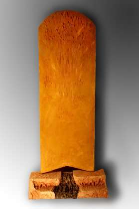 Il passaggio e il segno - Terracotta dipinta - cm 195x180