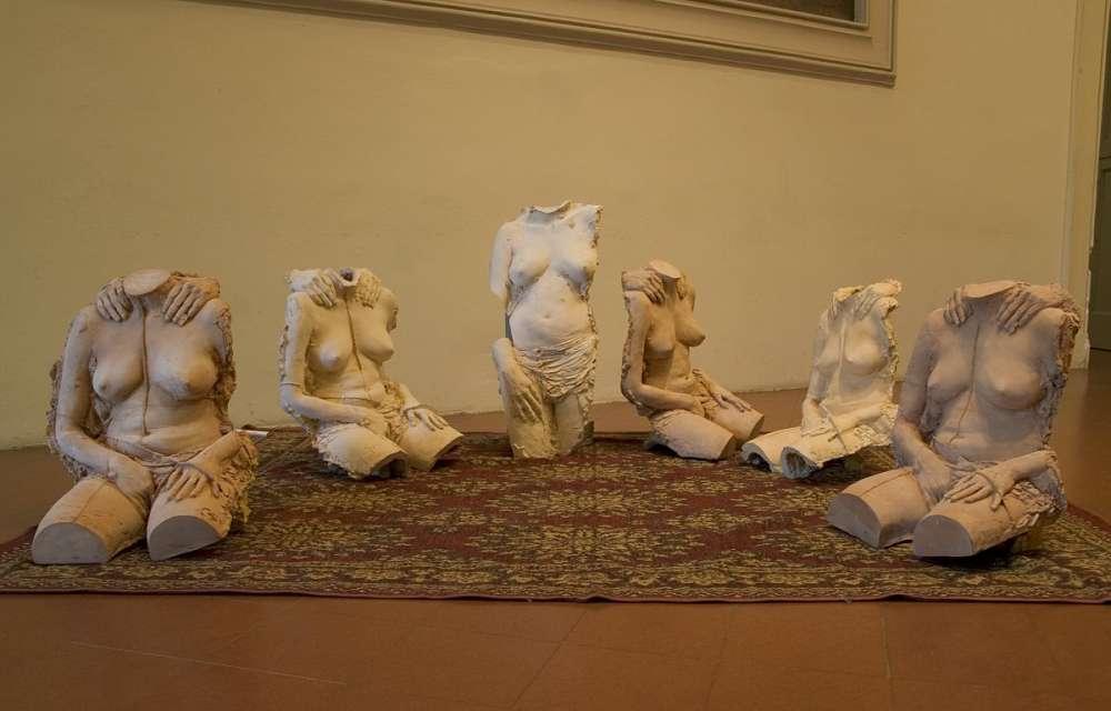 Quotidianamente - Terracotta - cm 55x50x31 ciascun busto