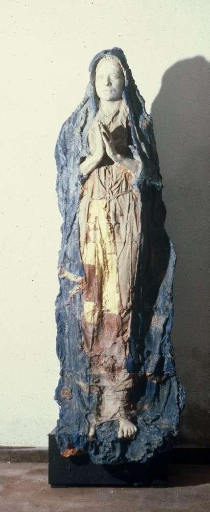 Speranza -  Terracotta dipinta - cm 179x60x35
