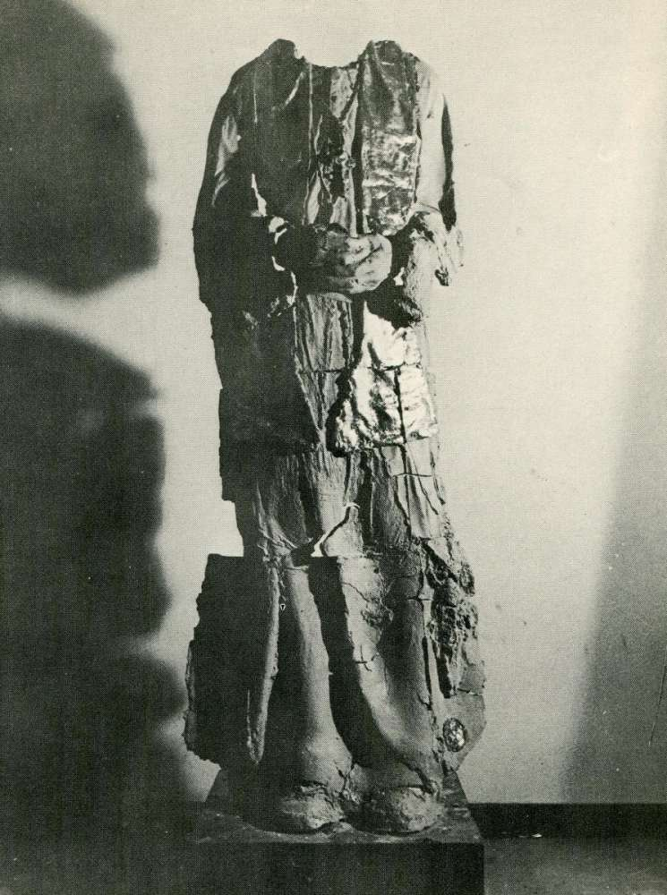 Studi per Statua a  Papa Albino Luciani (1979)