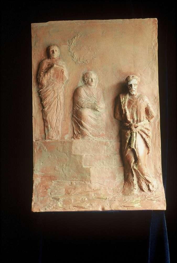 Via Crucis - Terracotta dipinta - cm 38x47,5
